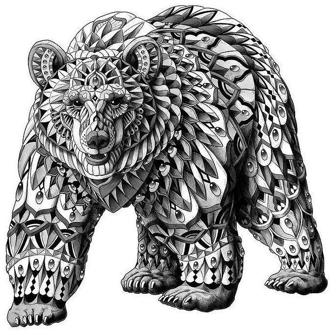 отличного медведь тату картинки рисунки под заказ
