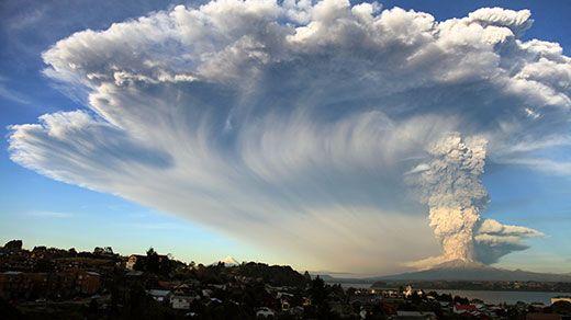 Vulkanausbruch In Chile Vulkane Bilder Natur