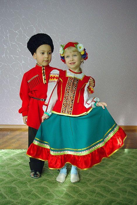 Костюм казачий детский   Идеи костюмов, Детские костюмы и ...