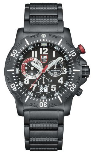 963056f9310 awesome Luminox Dive Chrono Black Watch 8362RP –