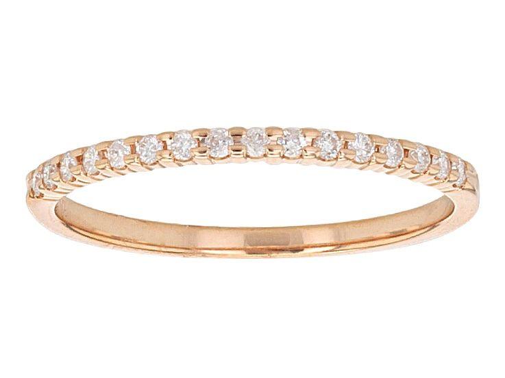 14ctw White Diamond 10kt Rose Gold Band Ring Gvi175 Rose Gold Band Ring Gold Band Ring Gold Bands