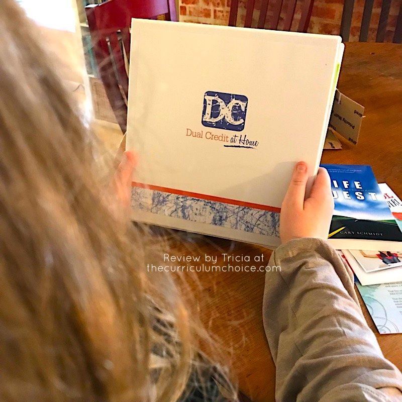 Dual credit at home review the curriculum choice