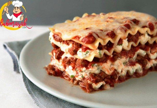 Resep Lasagna Ala Pizza Hut Lezat Dan Enak Resep Lasagna Resep Lasagna Masakan