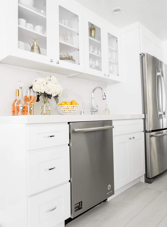 white marble kitchen design home inspiration pinterest white rh pinterest com