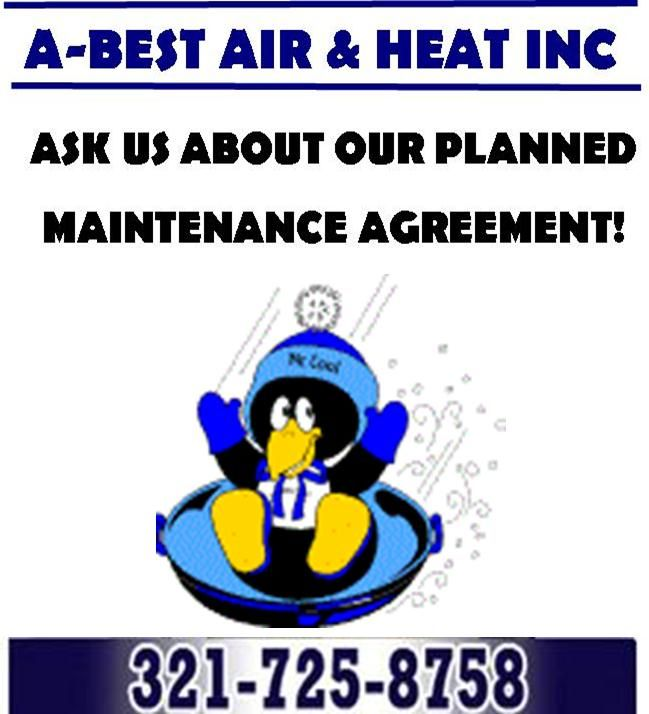 Ask about our Planned Hassle Free Maintenance Agreements! HVAC - sample service agreements