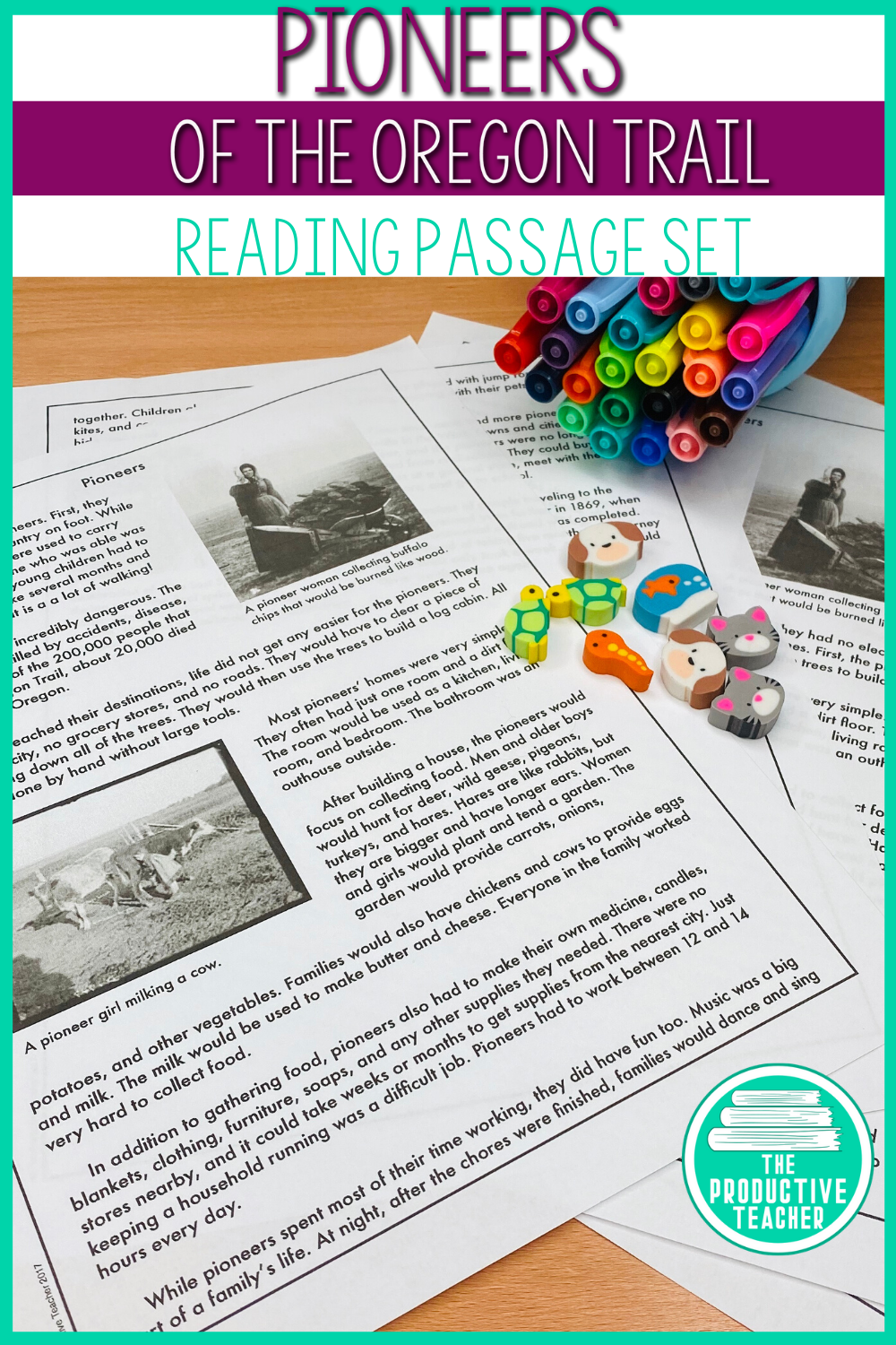 Pioneers Of The Oregon Trail Reading Passages Oregon Trail Student Reading [ 1500 x 1000 Pixel ]