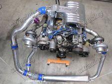 CXRacing 79-93 Fox Body Ford Mustang V8 5 0 FMIC Twin Turbo