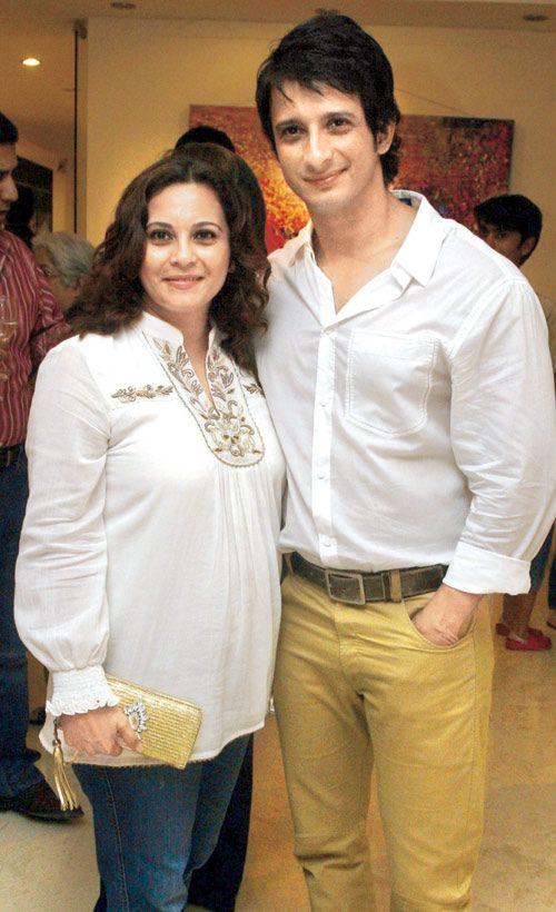 Manasi Joshi Roy with brother Sharman Joshi. #Bollywood #Style #Fashion