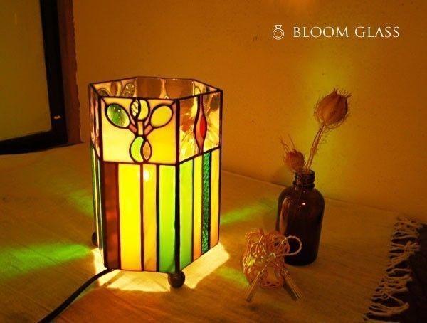 Photo of つぼみと若葉のランプ   iichi ハンドメイド・クラフト作品・手仕事品の通販