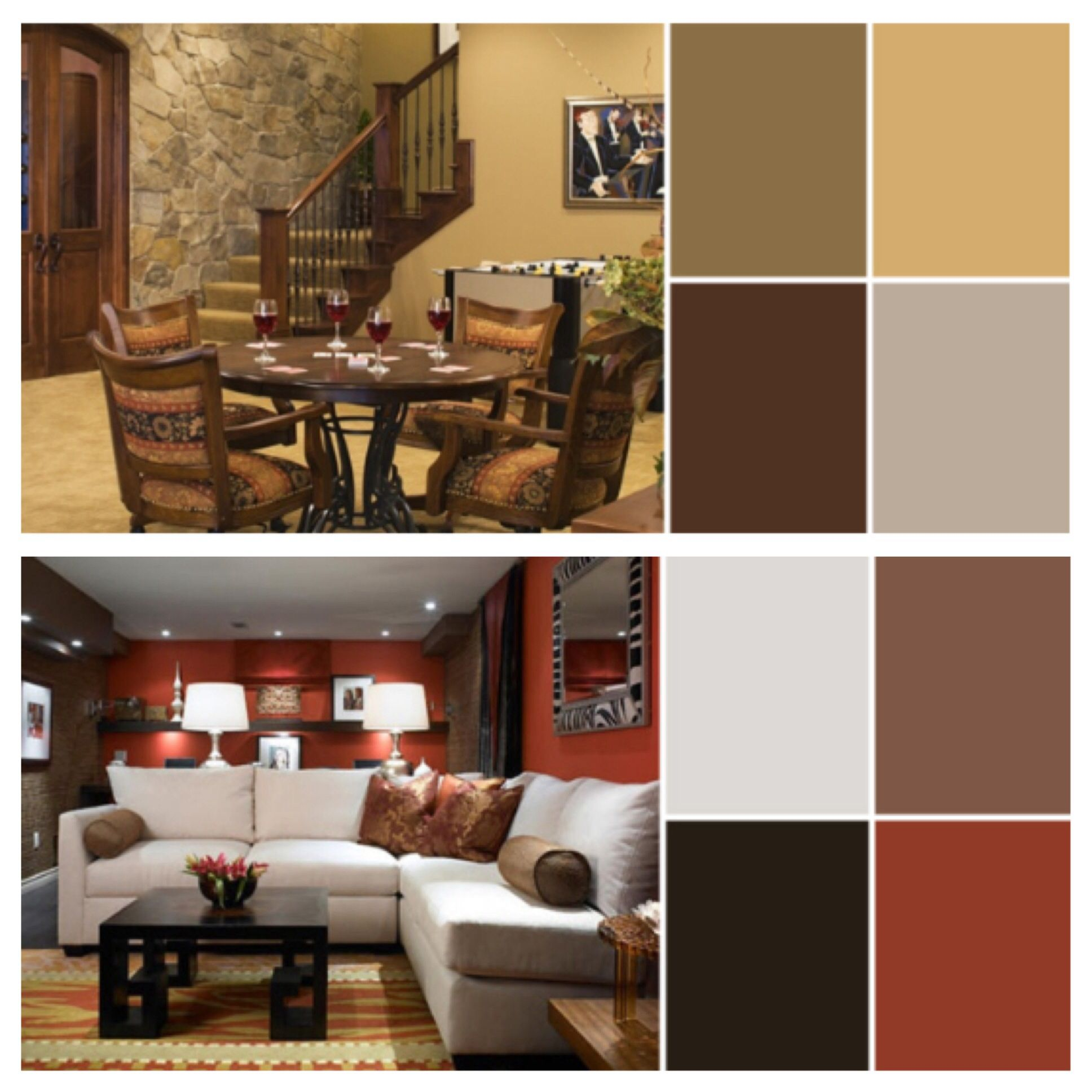 rustic color pallet rustic living room cabin living on rustic cabin paint colors id=30697