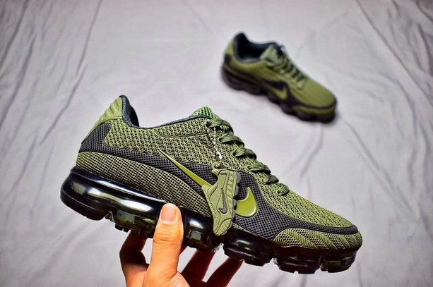 98847564aae26 Cool Nike Air Max 2018 Running Shoe Army Green Cheap Air Max VaporMax 2018  Cool Box Retailmenot Coupon Shoe For Sale