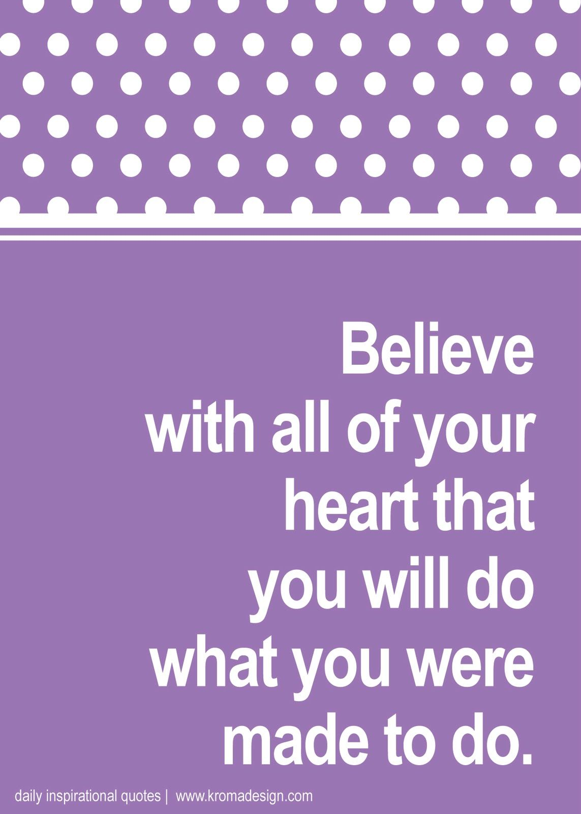 Inspirational Quotes for My Daughter | Click here to download a 5