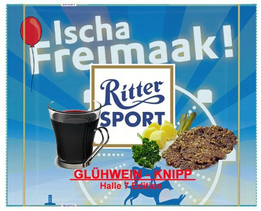 RITTER SPORT Fake Schokolade Glühwein - Knipp (von Stefan Keks Alexander)