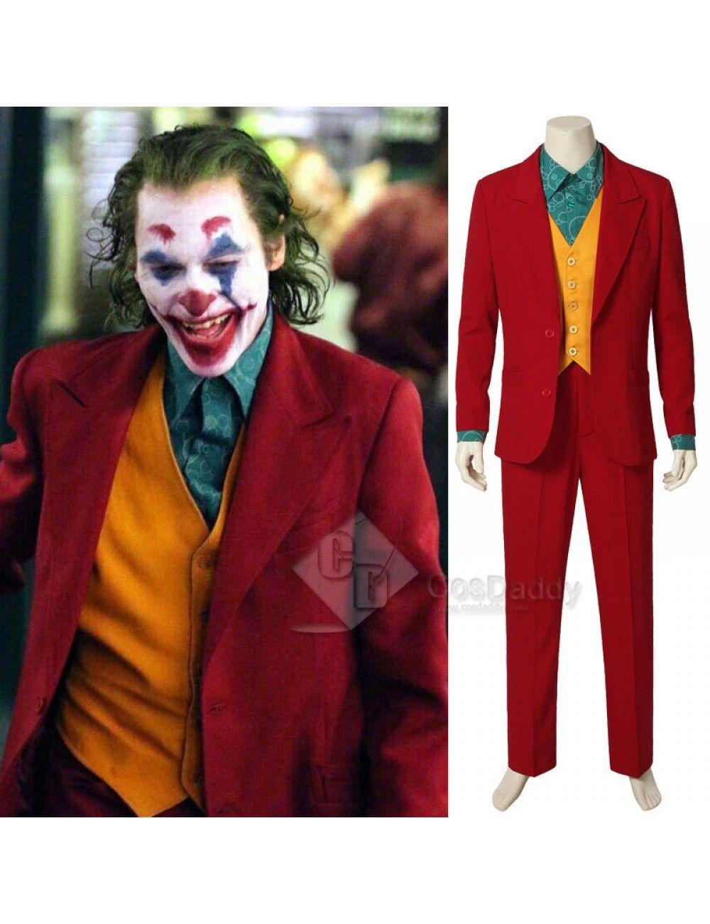 2019 Joker Joaquin Phoenix Arthur Fleck Uniform Cosplay