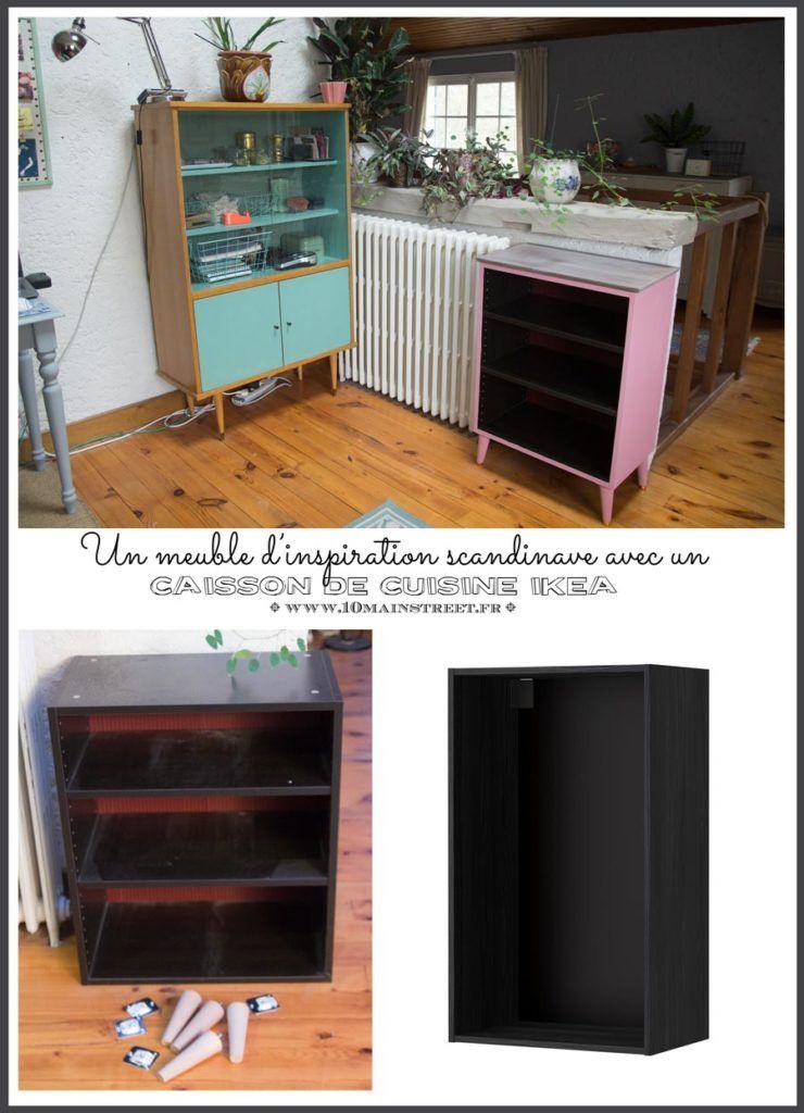 Fabriquer Un Meuble Scandinave Avec Un Caisson De Cuisine Ikea Fabrication Meuble Caisson Cuisine Ikea