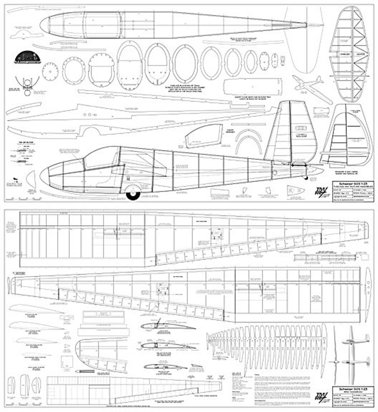 Plans Plywood Balsa 1 5 Scale Sgs 1 23 Schweizer Sailplane Etsy In 2020 Model Planes How To Plan Boat Plans