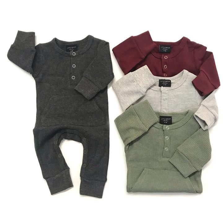 9b8c44007bf6 Thermal Romper- True Grey