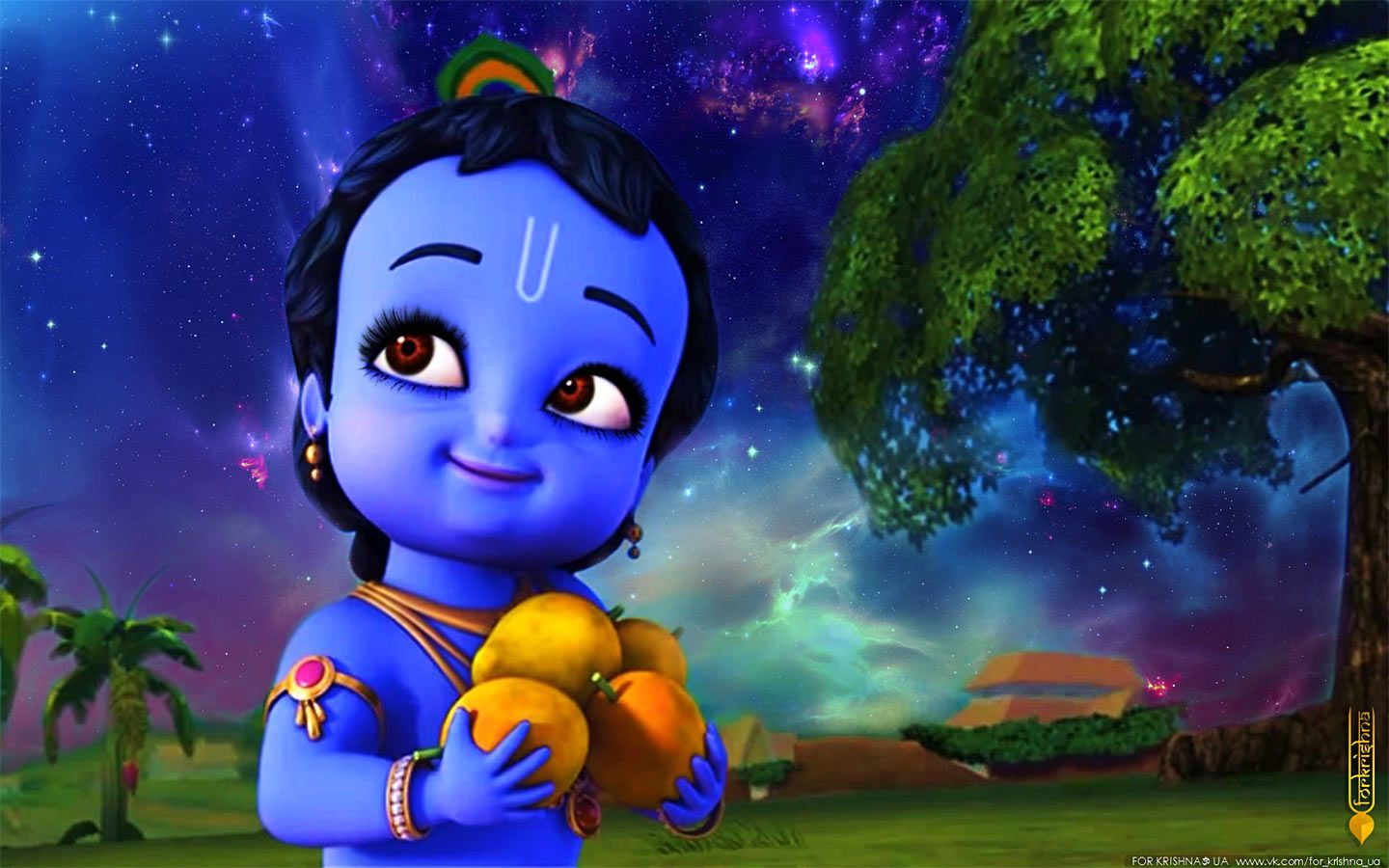 Little Krishna Hd Wallpaper Full Size Free Download Little Krishna Cartoons Krishna Lord Krishna Hd Wallpaper