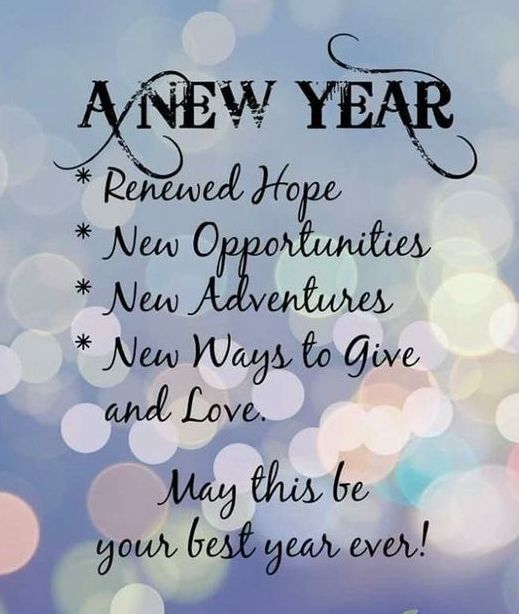 110 Inspirational New Year Wishes, Messages and Greetings [2020] (With images) | New year wishes quotes, Quotes about new year, Happy new year quotes