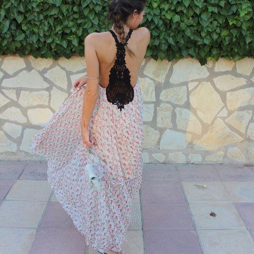 51a2257aed Vestido crochet Zara Studio - Chicfy | Inspiraciones