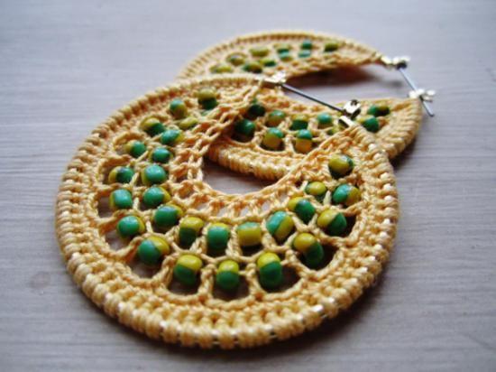 Bisuteria de crochet - Imagui