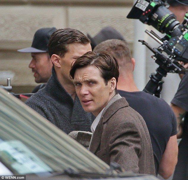 Jamie Dornan goes back in time filming drama Anthropoid in Prague