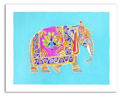 Caitlin McGauley Elephant Print