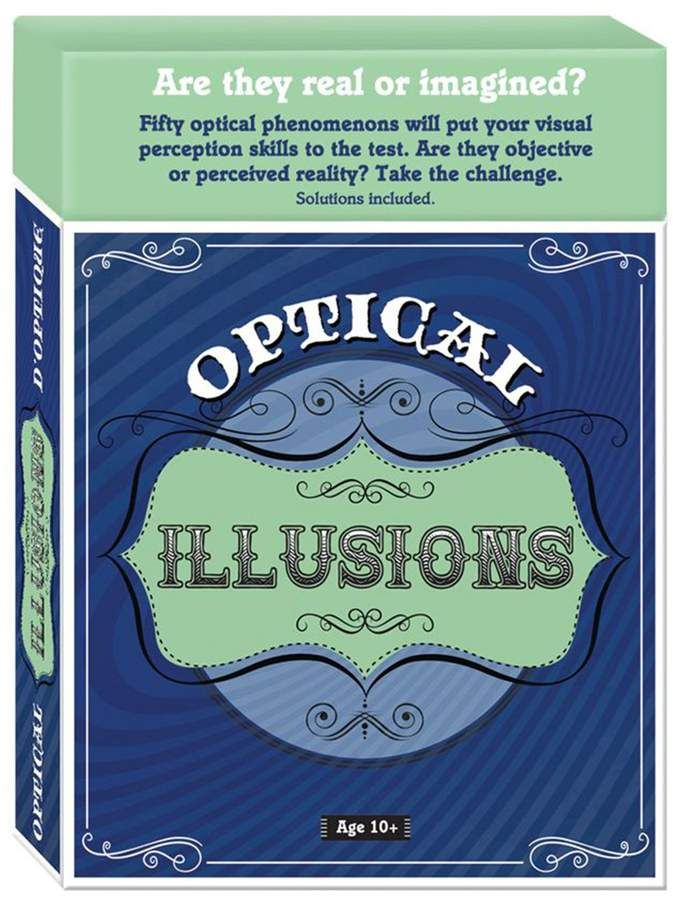 Family Games Inc Optical Illusions Brain Teaser