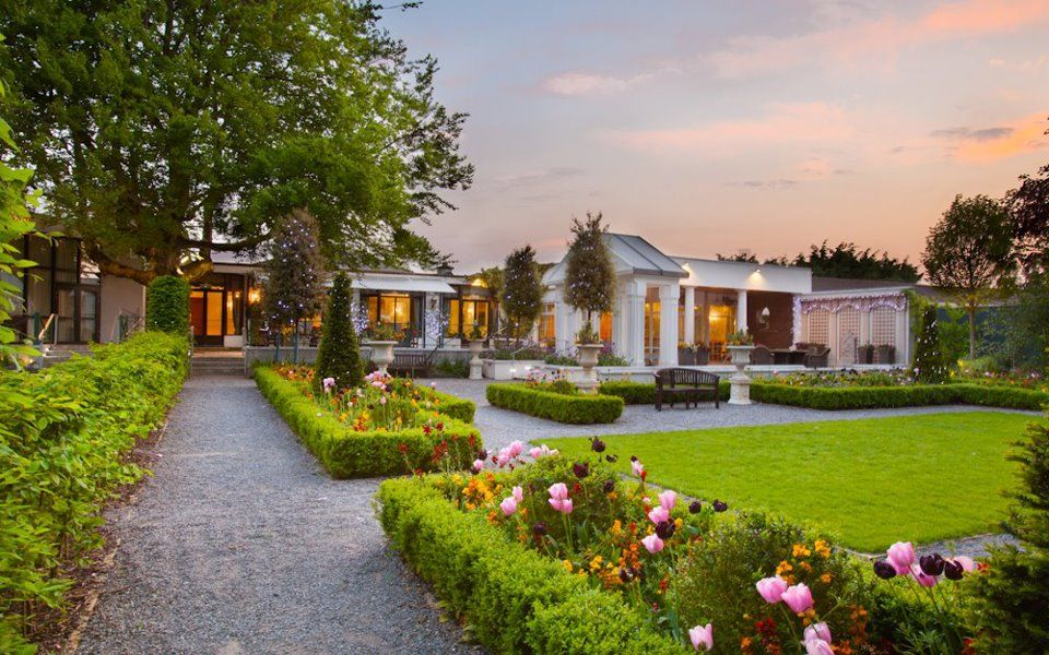 wedding garden the keadeen hotel co kildare
