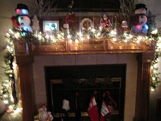 """""""the stockings were hung by the mantel with care..."""""""