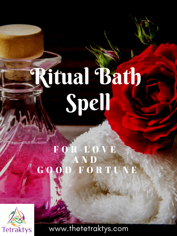 Ritual Bath Spell for Love and Good Fortune | Spiritual life