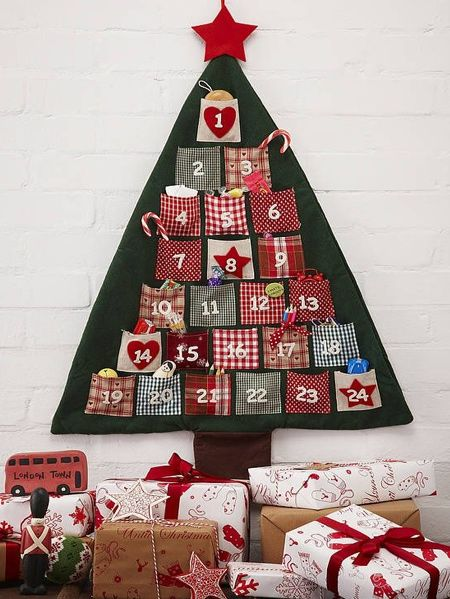 HOME DZINE Craft Ideas | Make your own advent calendar