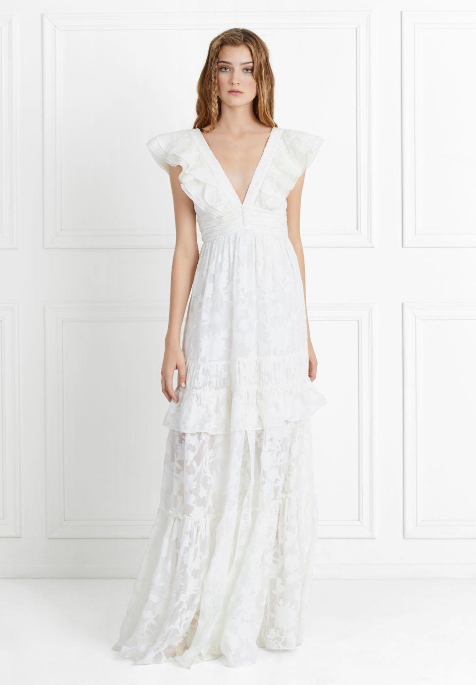 Violet fil coupe gown wedding bridal inspiration pinterest