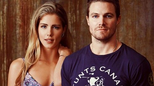 Oliver and Felicity - arrow Wallpaper