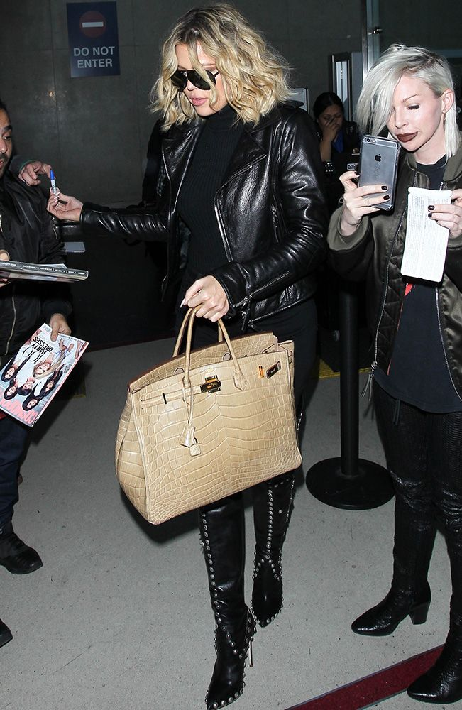 6fe1b4c7c705 Just Can t Get Enough  Khloé Kardashian s Hermès Birkin Collection is  Nearly as Impressive as Her Mom s