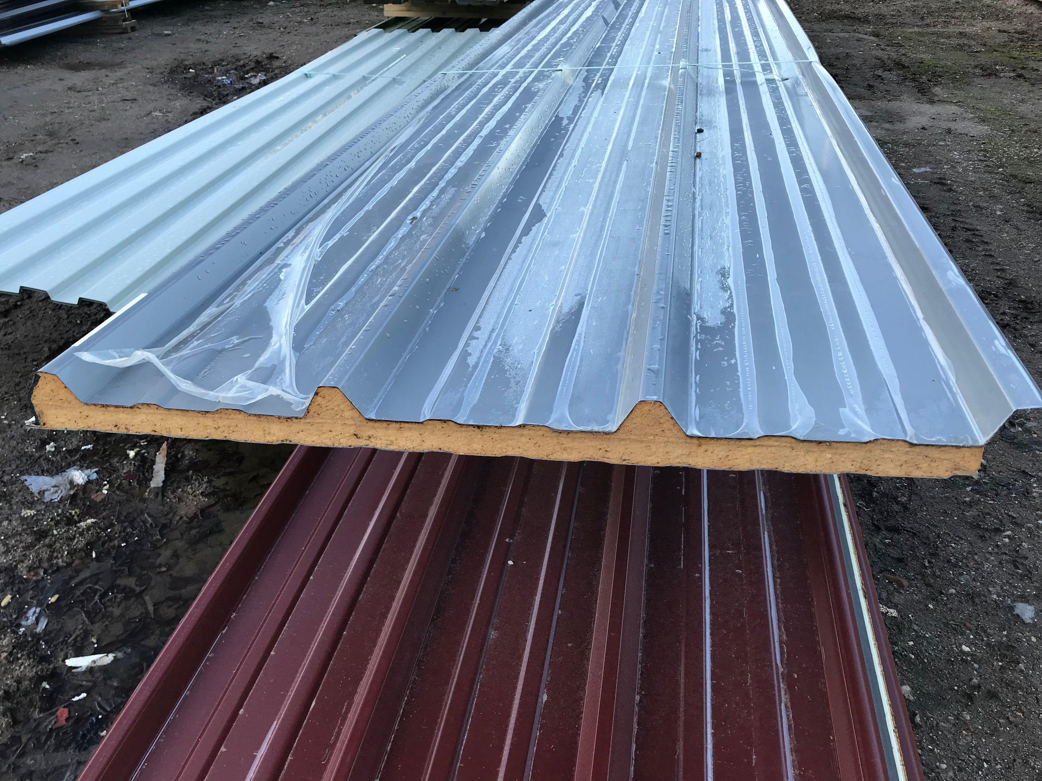 Sandwichplatten Aus Aluminium Und Stahl In 2020 Trapezblech Dach Aluminium Trapezblech