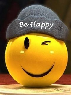 Download free Be Happy Mobile Wallpaper contributed by