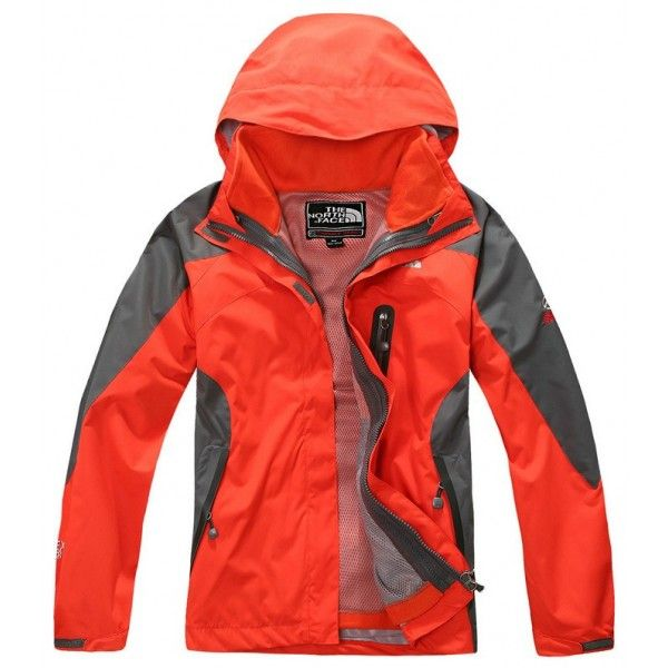The North Face Women's Gore-Tex 2 in 1 Triclimate Fleece Jacket Sunshine  Orange