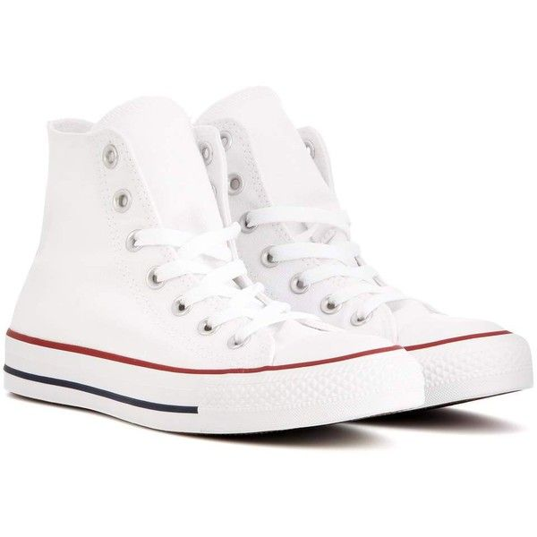 converse shoes high tops white. converse chuck taylor all star high-top sneakers (180 brl) ❤ liked on polyvore featuring shoes, sneakers, converse, white, high top hi tops, shoes tops white