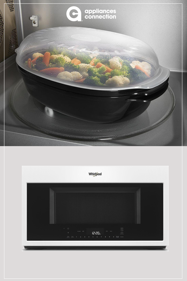 Wmh78019hw Over The Range Microwave With 1 9 Cu Ft Capacity And 400 Cfm This Unit Features Scan To Cook Which Allow Microwave Microwave Oven Steam Recipes