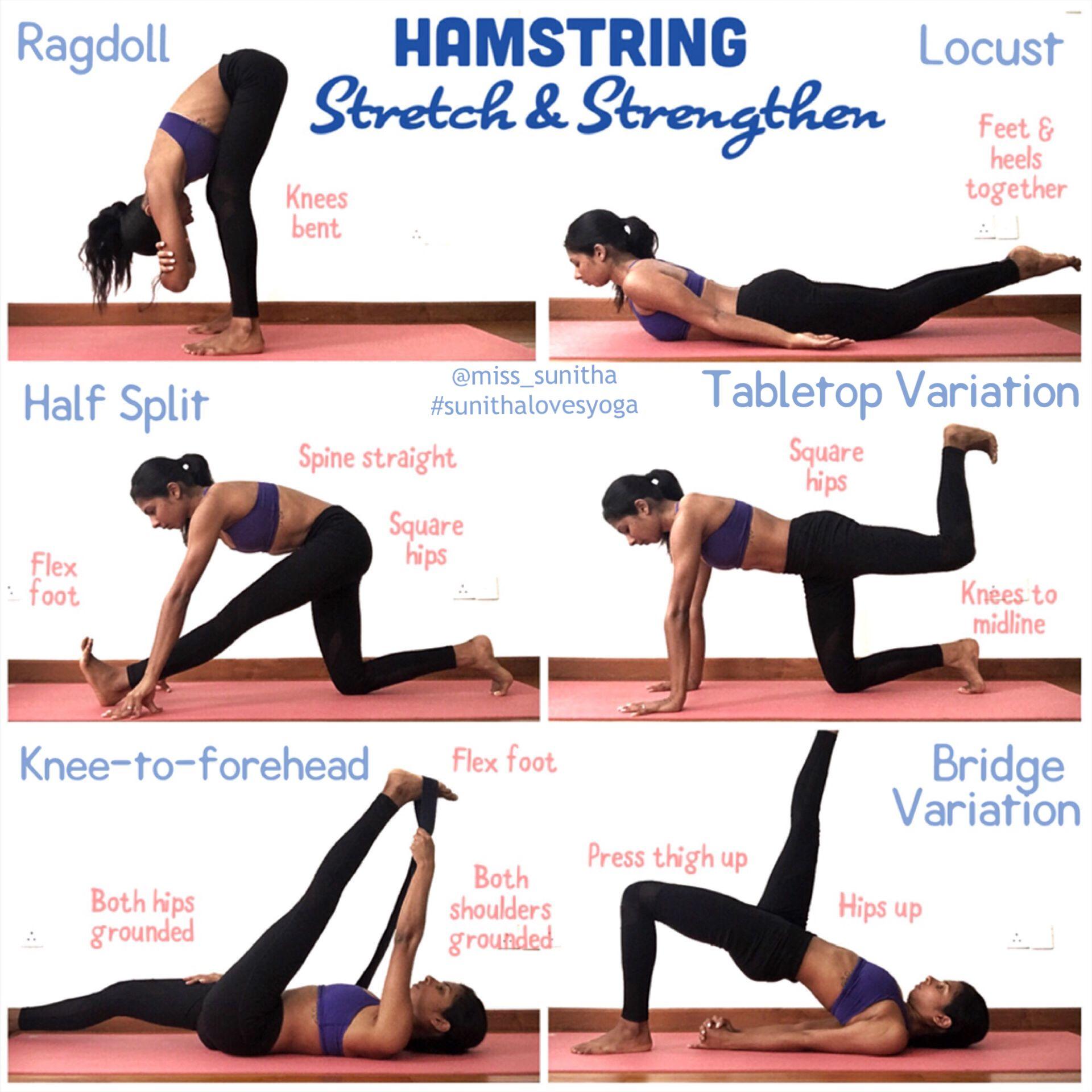 Yoga Stretches Hamstrings