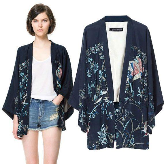 Terinspirasi dari model kimono Jepang yang begitu ...