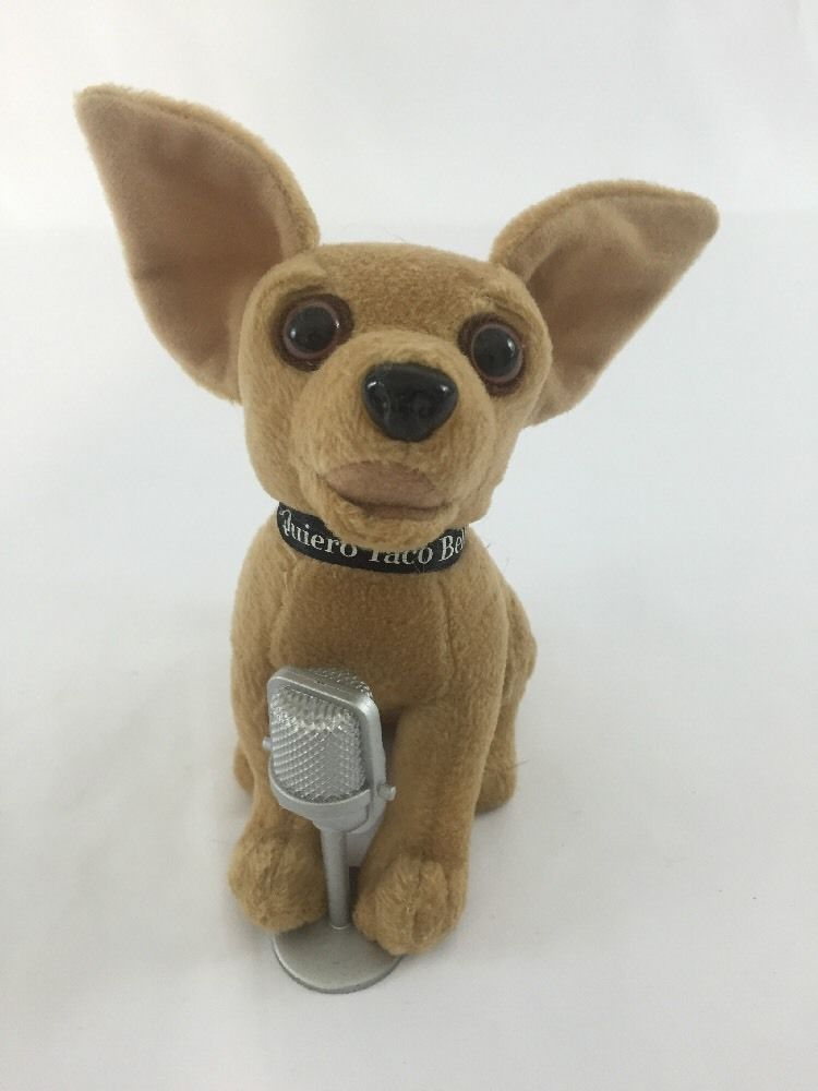Yo Quiero Taco Bell Plush Singing Chances Are Chihuahua Dog With