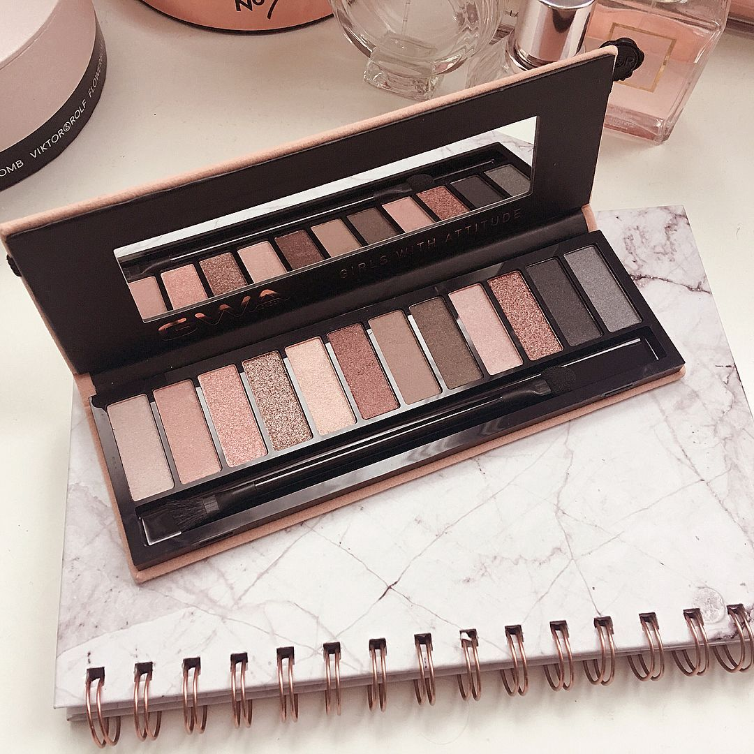 Looking for a neutral eye makeup palette? Try GWA's