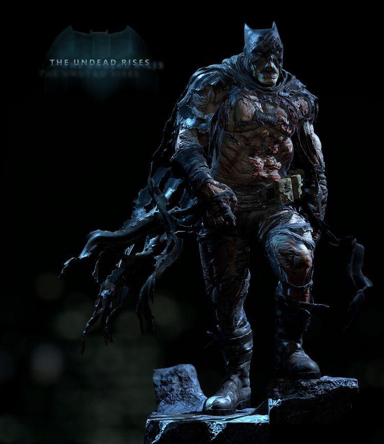 The Undead Rises in Batman and Catwoman Zombie Fan Art — GeekTyrant