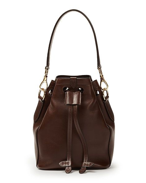 Small Ricky Drawstring Bag Handbags Shoes Accessories Ralph Lauren Uk