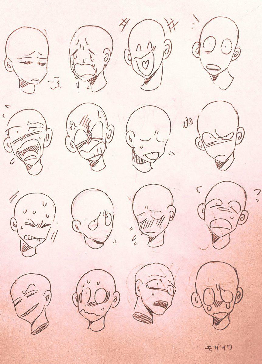 134 Twitter Desenho Expressoes Poses References Desenho De Rosto
