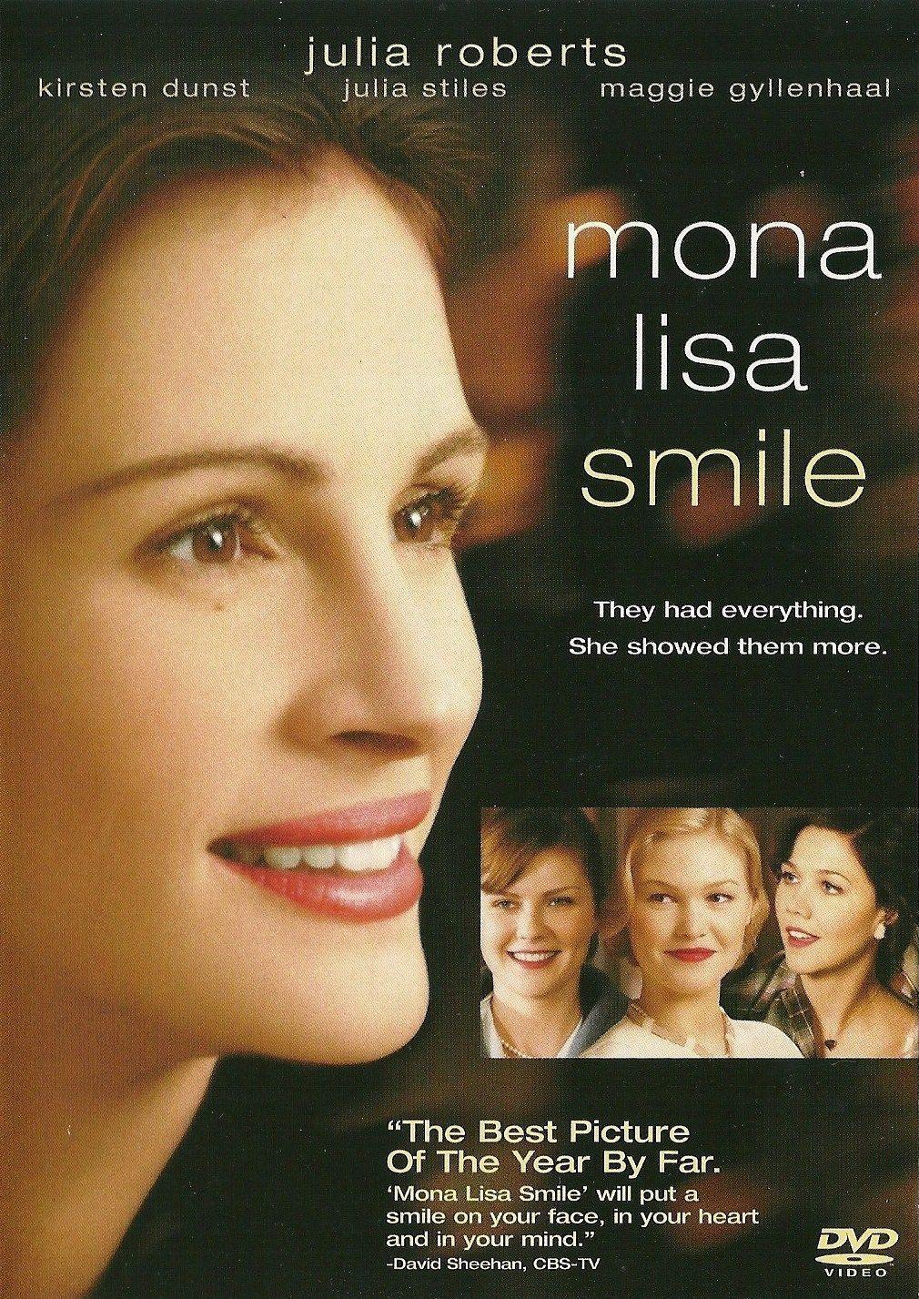 MONA LISA SMILE * Happy Birthday to: Laura Allen March 21 * Maggie  Gyllenhaal November 16