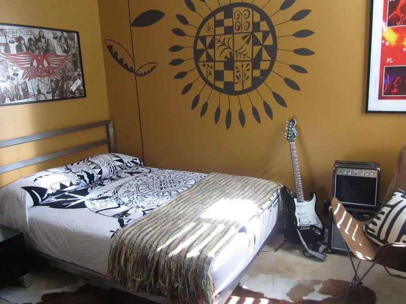 Houzz Call Show Us Your Gen Z Rooms Music Themed Bedroom Teenager Bedroom Boy Boys Bedroom Paint Teenage bedroom ideas houzz