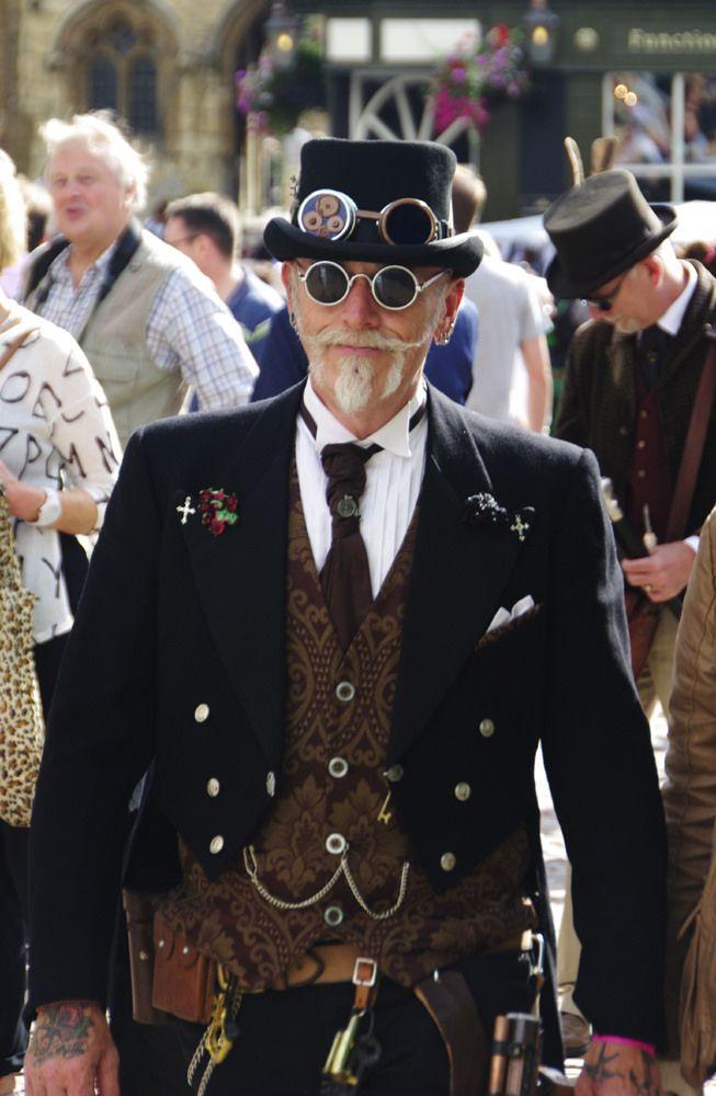 Dapper Steampunk Gentleman Men S Steampunk Clothing For